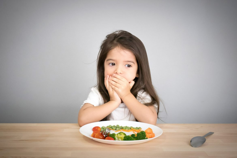 Trẻ bị ốm không chịu ăn