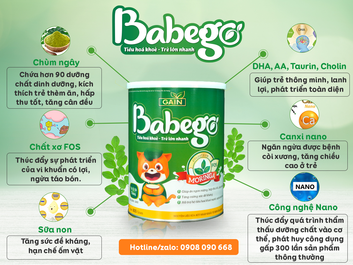 Sữa Babegp