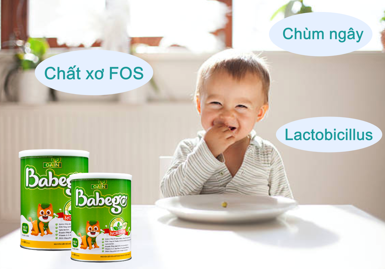 Babego tăng cường chất xơ FOS