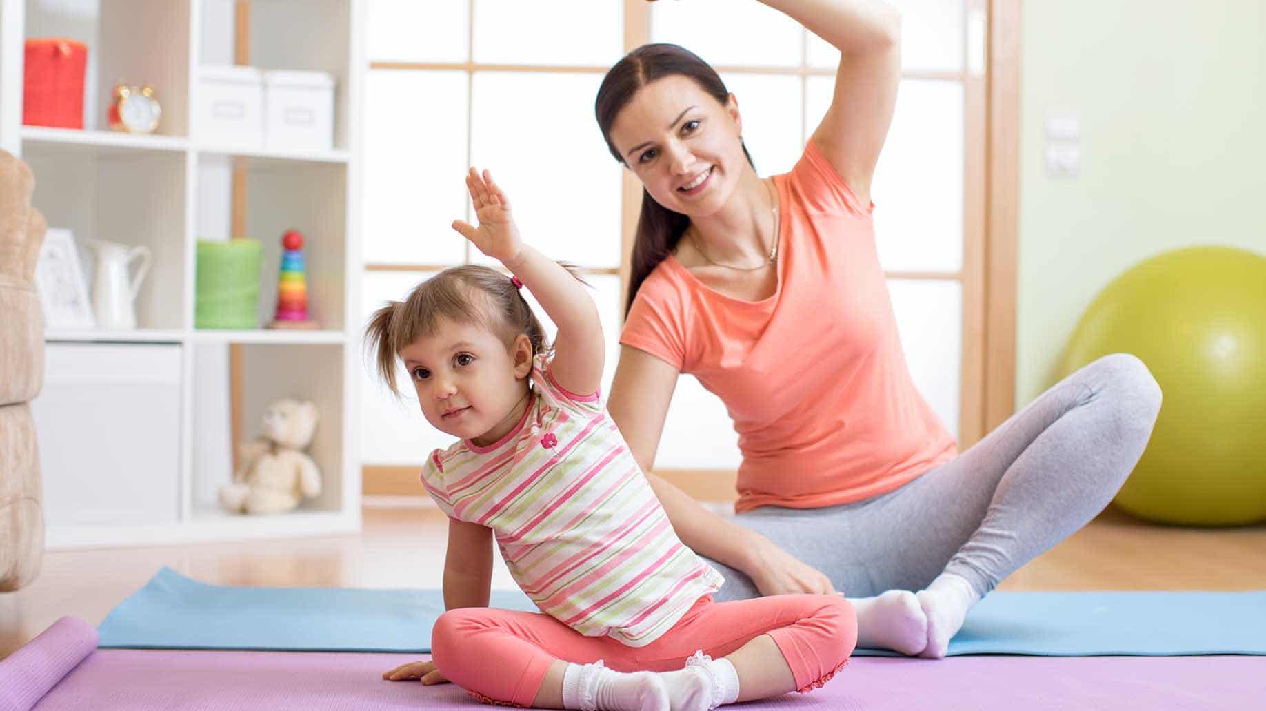 Vận động giúp tăng cường đề kháng cho trẻ