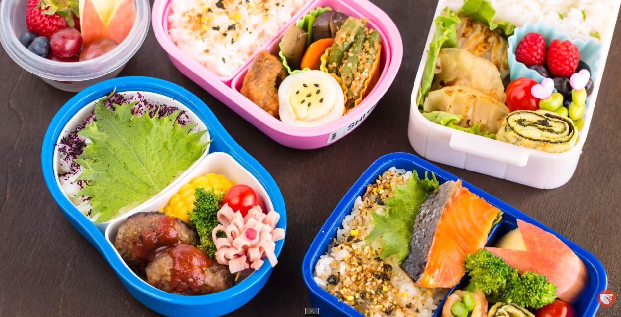 Bữa ăn dinh dưỡng cho bé