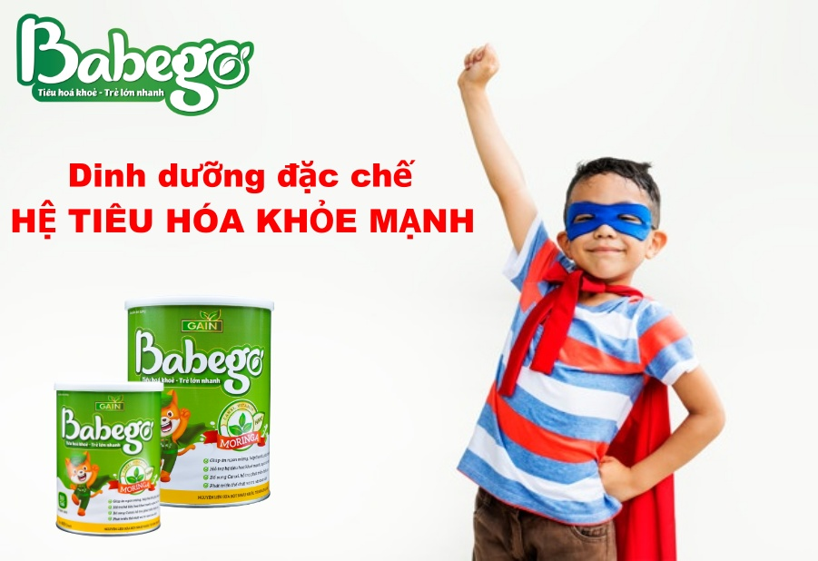 Babego - dinh dưỡng cho hệ tiêu hóa khỏe mạnh