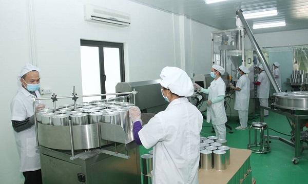Quy trình sản xuất sữa Babego