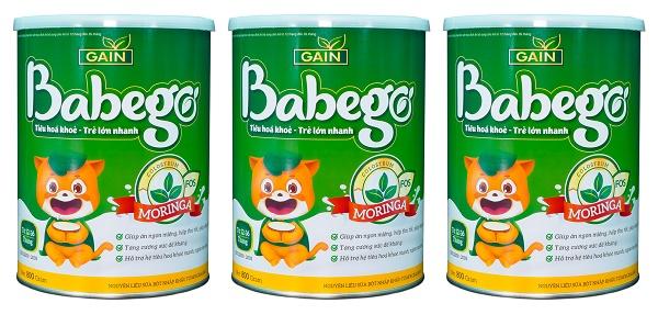Sữa Babego giúp trẻ tăng cân vượt trội