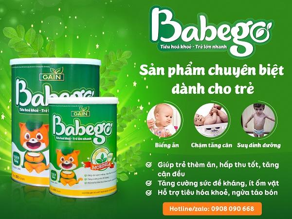 Tác dụng sữa Babego
