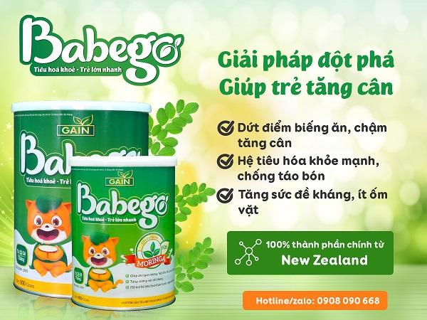 Sữa thảo dược chùm ngây Babego là sản phẩm toàn diện