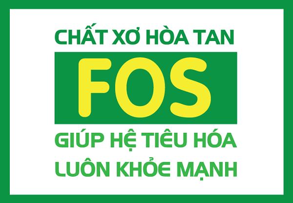 Chất xơ hòa tan FOS giúp tiêu hóa khỏe mạnh