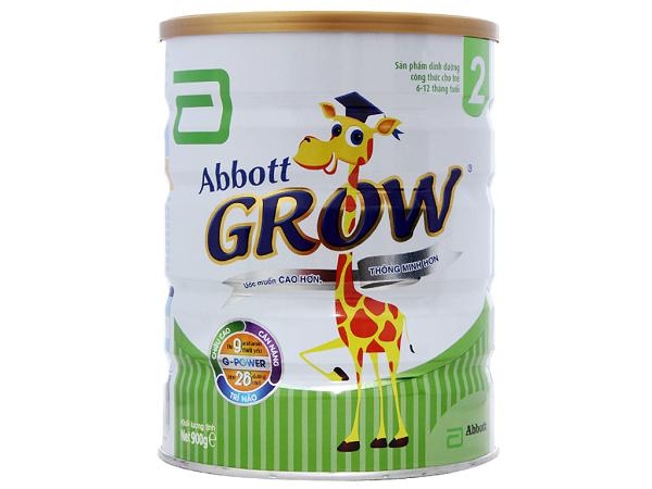 Sữa Abbott Growchứa nhiều chất xơ giúp cải thiện hệ tiêu hóa cho bé