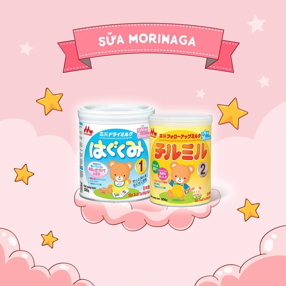 Morinaga - sữa rau cho trẻ
