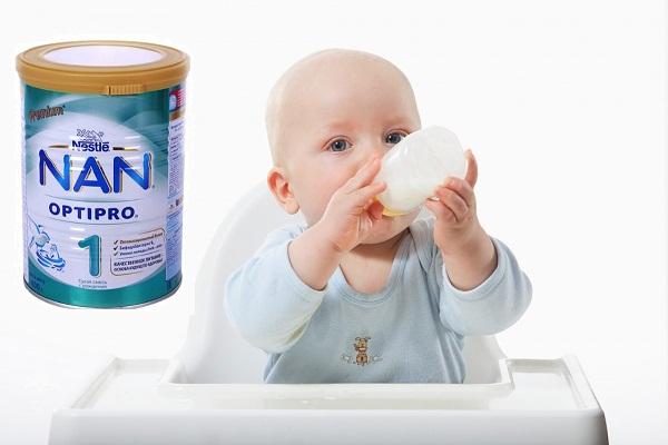 Sữa Nan Nga-giải pháp tăng sức đề kháng toàn diện cho bé.