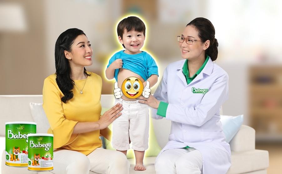 Sữa Babego cải thiện tình trạng rối loạn tiêu hóa ở trẻ