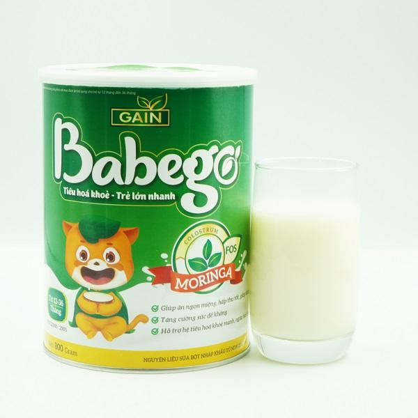 Sữa Babego - Tăng cân, chống táo bón, tăng miễn dịch