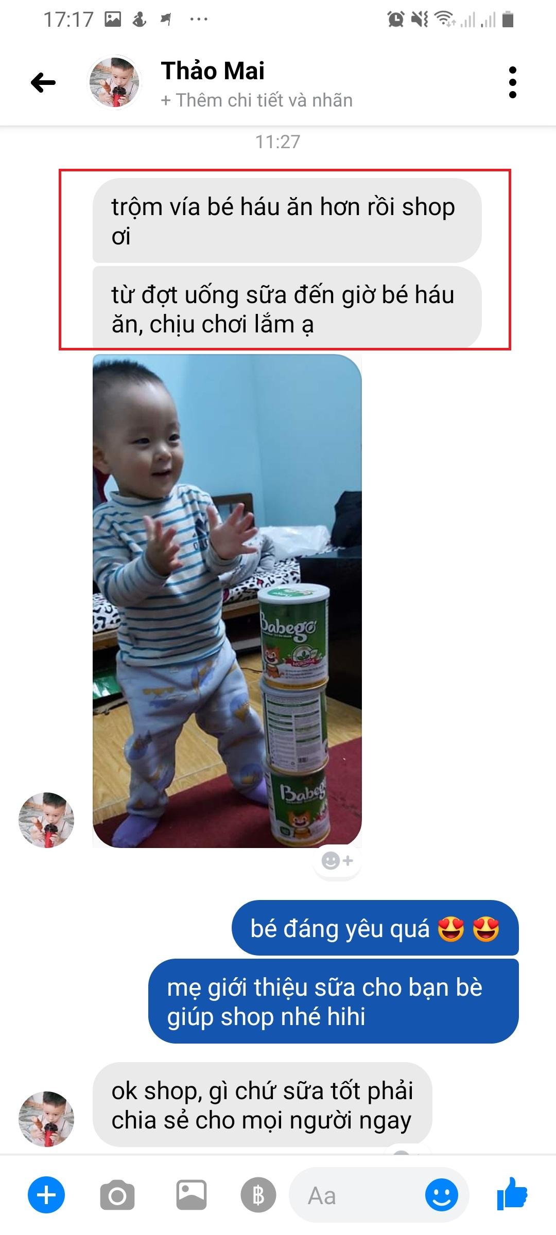 Review sữa Babego tăng cân tốt không?