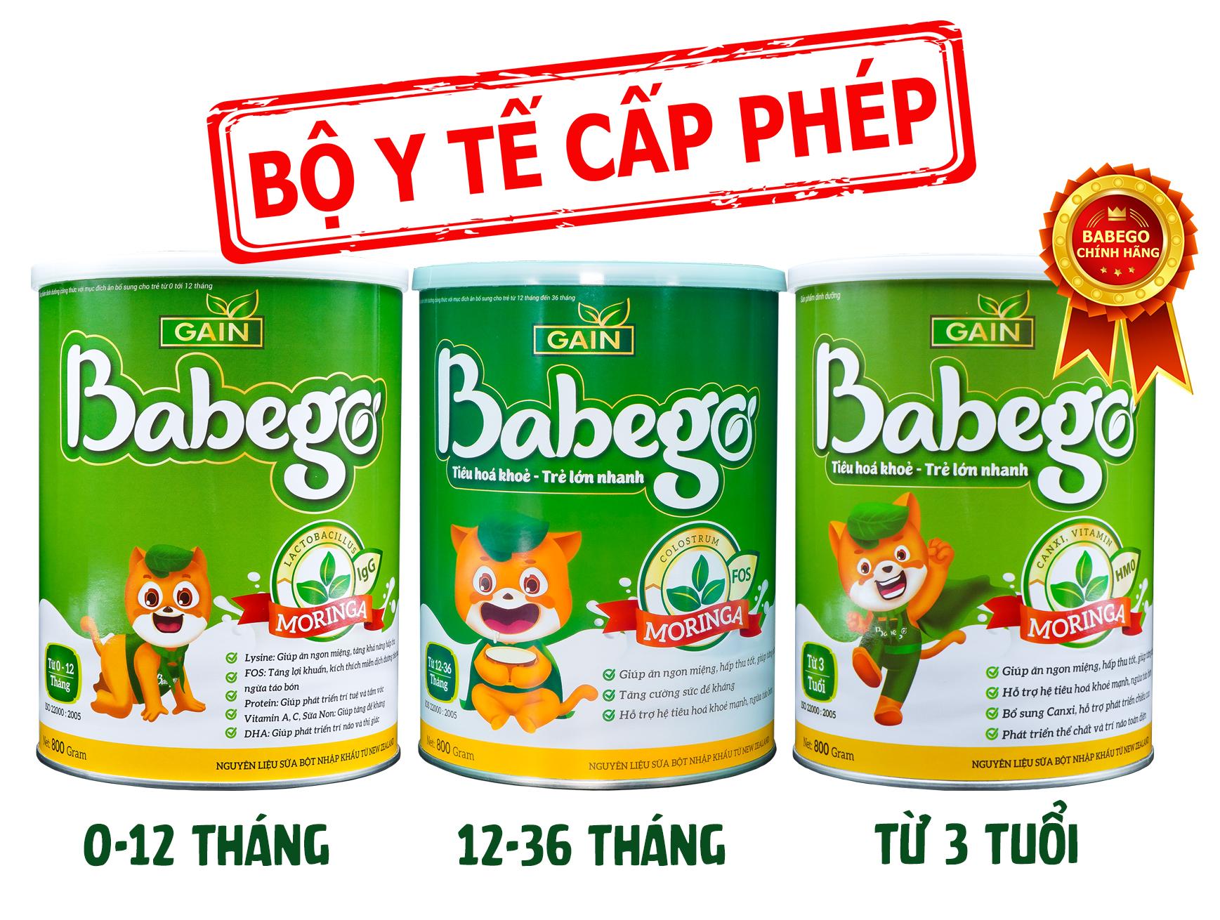 Sữa Babego cải thiện tình trạng biếng ăn cho trẻ 3 tháng tuổi