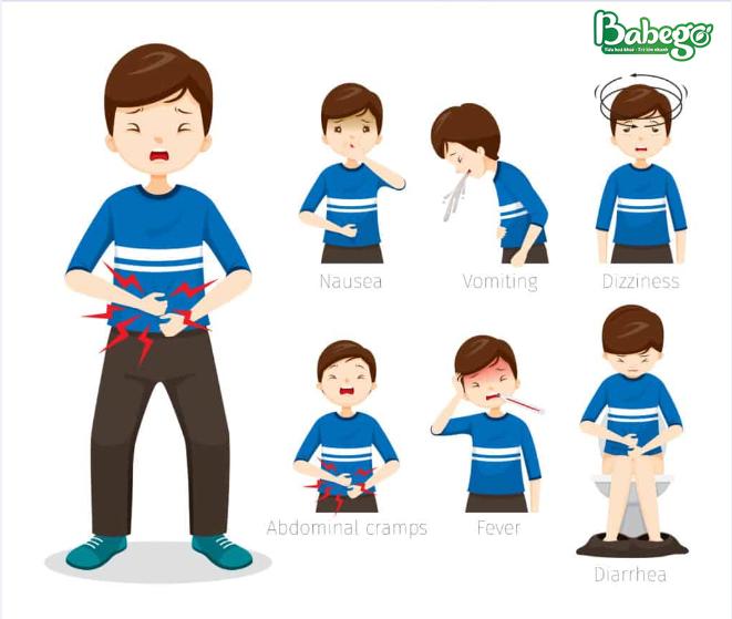 Biểu hiện tiêu chảy cấp ở trẻ
