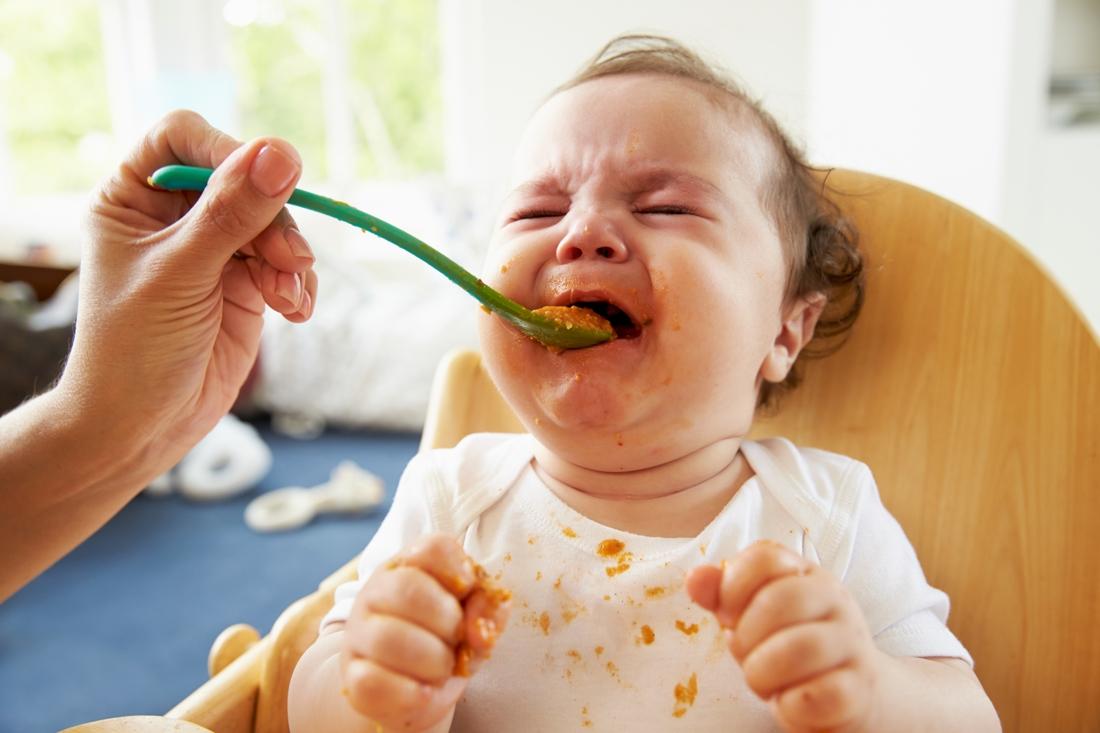 Món ăn không phù hợp với sở thích của trẻ