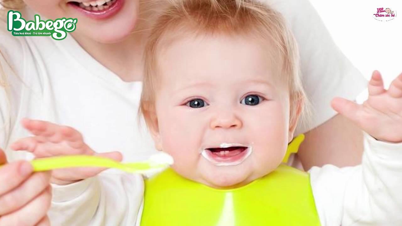 Sữa chua uống phù hợp cho trẻ từ 7 tháng trỏe lên