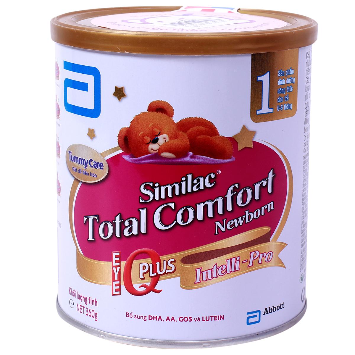 Sữa Similac Gain Plus Total Comfort