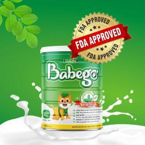 Sữa thảo dược chùm ngây Babego 0-12M 400g