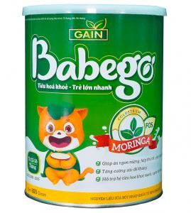 Sữa thảo dược chùm ngây Babego 12-36M 400g